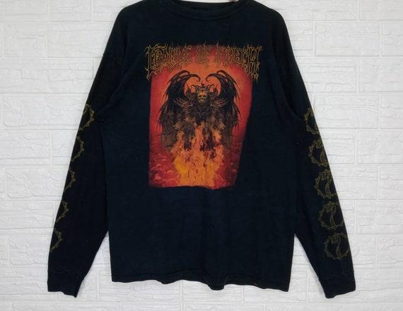 Vintage Cradle of Filth Long Sleeve T-shirt XL siz