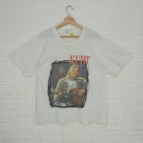 Vintage 1993 Kurt Cobain Nirvana T-shirt L size