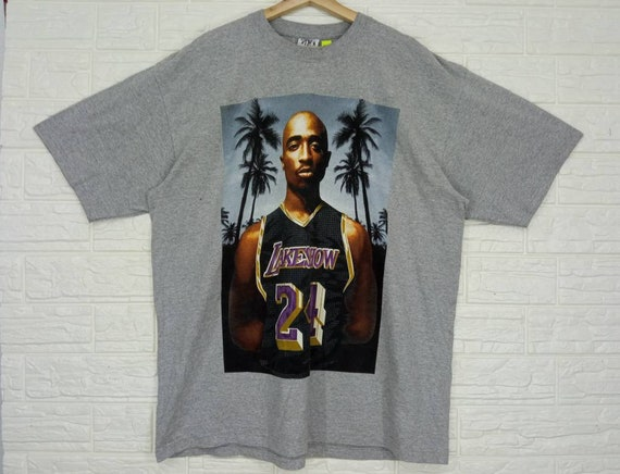 Vintage Tupac Lakeshow Lakers T-shirt XXL size