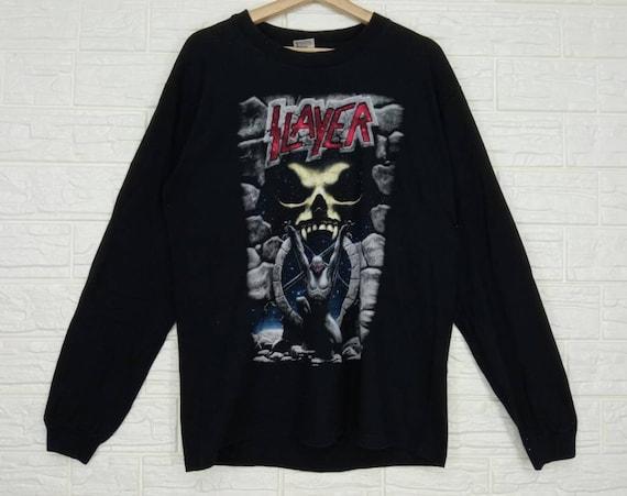 Vintage Slayer Long Sleeve T-shirt Large size