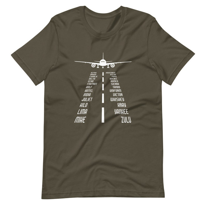 Alphabet Runway Unisex Shirt,Flying Shirt Gift,Gift for Pilot,Pilot Dad Gift,Pilot Gift,Aviation Gift,Funny Aviation Shirt,Airplane Shirt