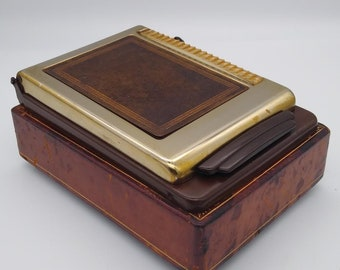 Very Unique Italian made Music Box, with a Swiss Thorens movement.