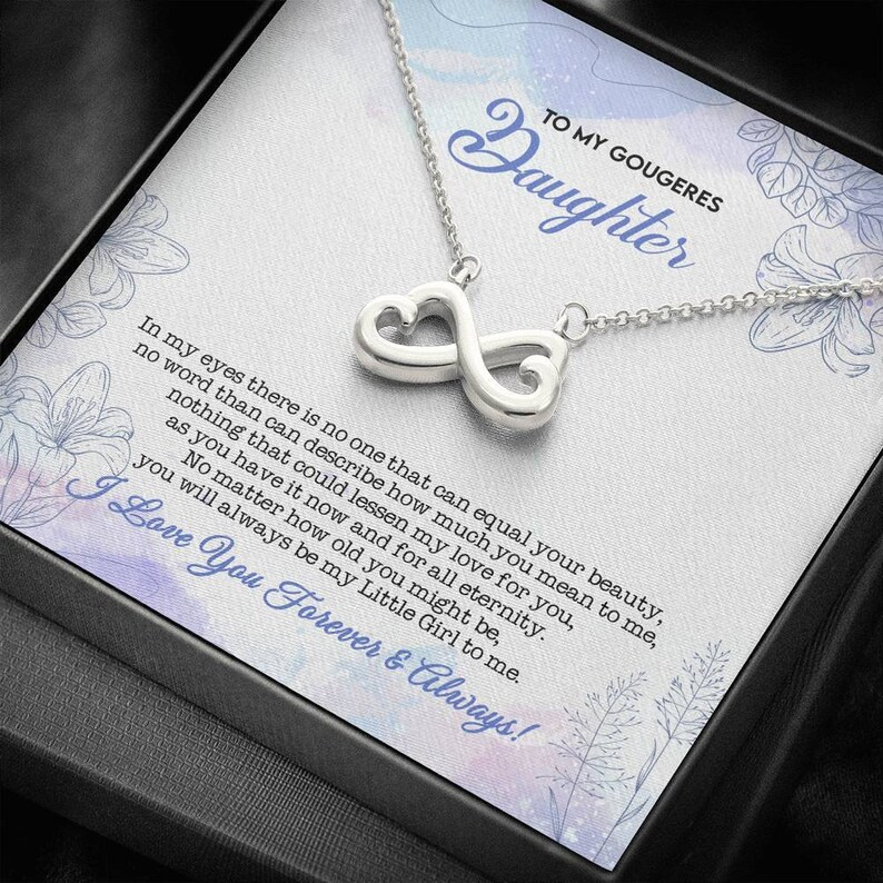 Birthday Gift For Daughter Personalized Gifts For Daughter To My Daughter Gifts Necklace for Daughter