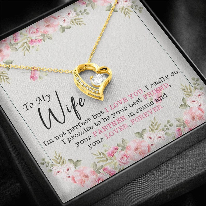 Necklace Gift For Wife Gift For Wife Gifts For Wife From Husband Necklace for Wife Valentine Gift Ideas