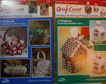 Pattern Leaflet #53008 Quick Count Holiday Gift Boxes 2000
