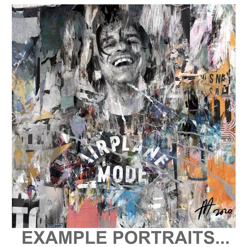 Custom fine art portraits from photos