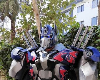 Optimus Prime Transformers Cosplay Costume