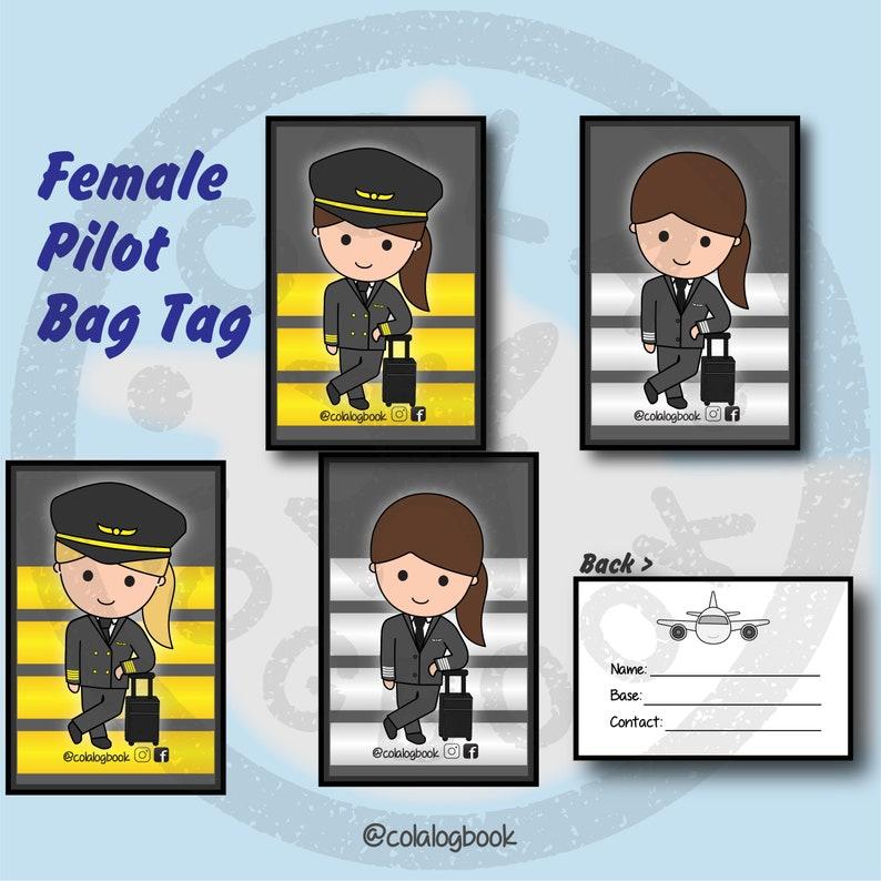 Pilot Bag Tag