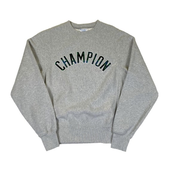 Vintage Champion Reverse Weave Embroidered Crewnec