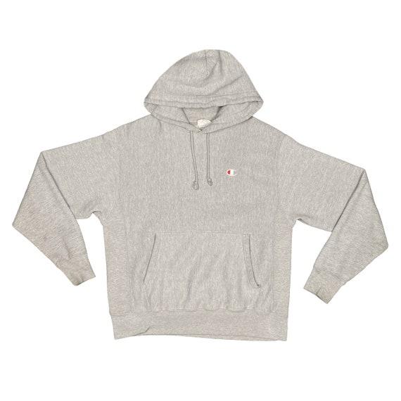 Reverse Weave Grey Champion Hoodie