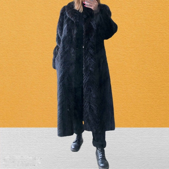 Vison | Fur jacket | Natual leather coat from Ivon