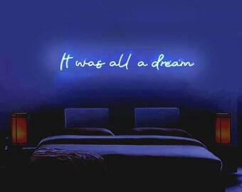 Neon Sign Bedroom Etsy