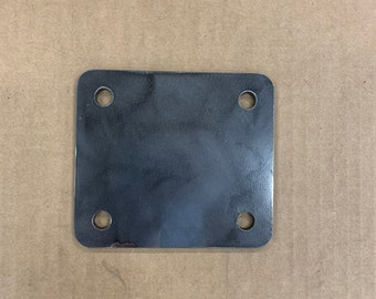 Weld-On Caster Plates, Set of Four