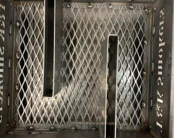 Charcoal Basket T-Plates, Set of 2