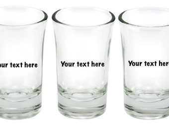 Pick your Lucky Shot Stoned shot glass