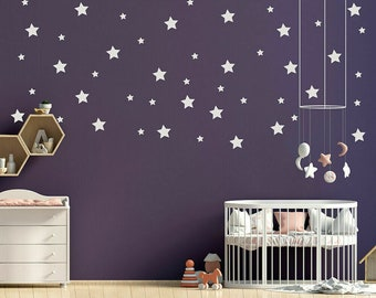 Shoot For The Stars Wall Decal \u2013 Vinyl Wall Sticker \u2013 Removable Wall Art for Home decor