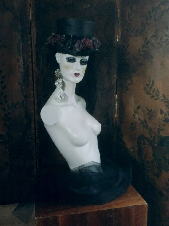 Vintage handmade couture fashion Mannequin Display