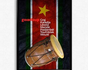 Gwadloup Ka Flag