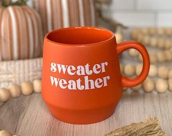 Fall Sweater Weather Mug
