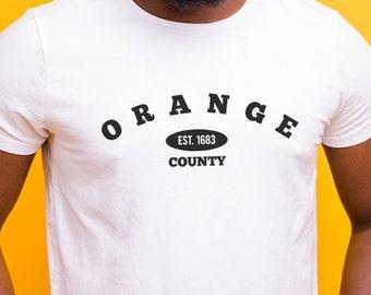 Orange County/Established in 1683 - Hudson Valley NY T-Shirt
