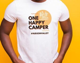 Happy Camper/#Hudson Valley T-Shirt