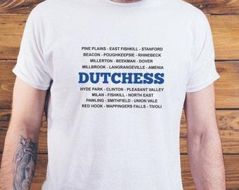 Dutchess County Towns T-Shirt - Hudson Valley NY T-Shirt