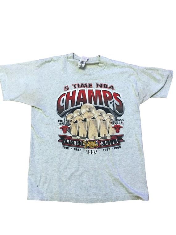 Chicago Bulls championship t shirt