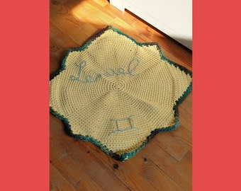 Tutoriel Tapis Soleil // Sunny Rug Crochet Pattern