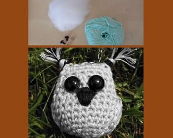 Kit Crochet Owl Key ring