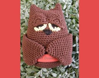 Tutoriel Hibou au crochet // Owl Crochet Pattern