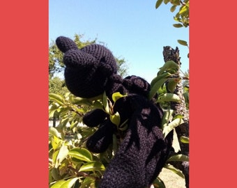 Tutoriel du Dragon Furie // Fury Dragon Crochet Pattern