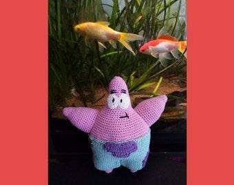 Tutoriel ~ Patrick l'étoile de mer au crochet // Crochet Pattern Patrick Star