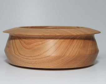Wood Bowl Hand Turned From Olive Ash In The Yorkshire Dales