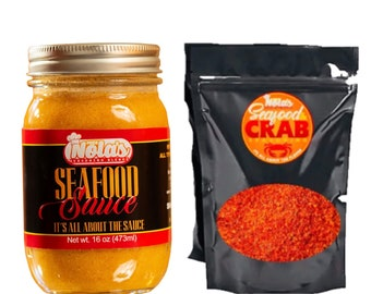 Butter Sauce, Seafood Dipping Sauce Combo, Crab Boil , Labor Day , Red , Blue
