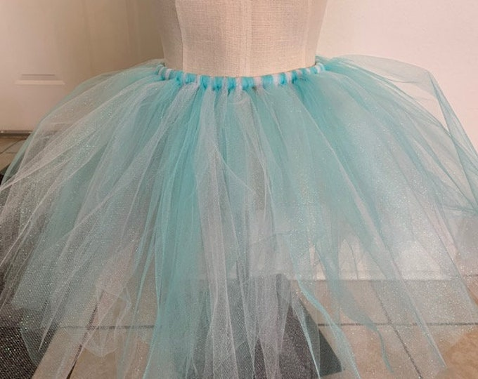 Featured listing image: New Orleans Original- Light Blue TuTu (One Size Fit Most)