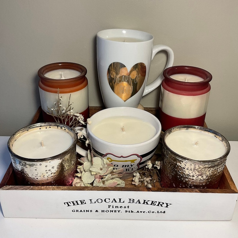 Hand-Poured Soy Wax Candles Love Spell