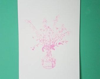 Lili - Pink Edition - Fine Art Screen print