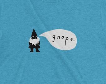 GNOPE | T-shirt | Retro | Short-Sleeve | Tri-Blend