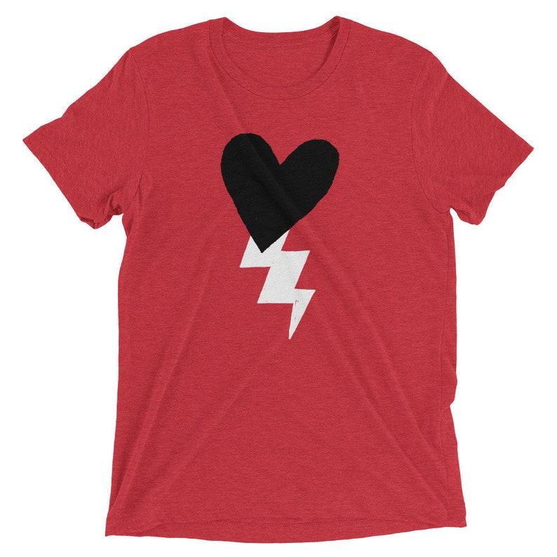 Hug of Thunder  T-shirt  Retro  Short-Sleeve  Tri-Blend image 0