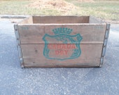 1964 Canada Dry Wooden Crate