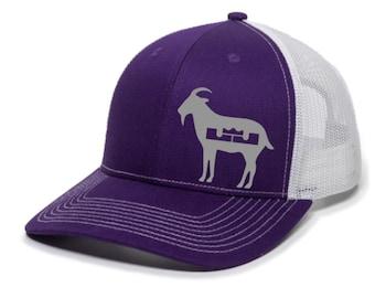 LeBron James GOAT L Crown Logo (Los Angeles Colors) 2020 Champions Premium SnapBack Hat
