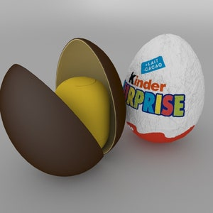 10 Chocolate eggs KINDER SURPRISE, 200 g Chocolate eggs with a toy inside