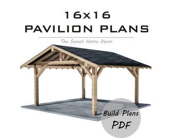 Pergola Style Wood Carport Design 2022