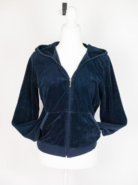 Iconic Juicy Couture Zip Hoodie