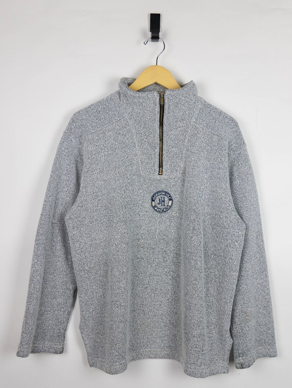 Vintage 90s Jackson Hole Wyoming quarter zip knit