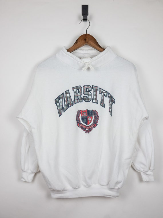 Vintage 90s Varsity Sweater / Made in Canada