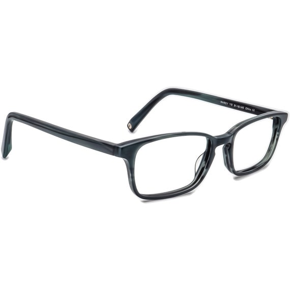 Warby Parker Eyeglasses Hardy 175 Pacific Blue Rec