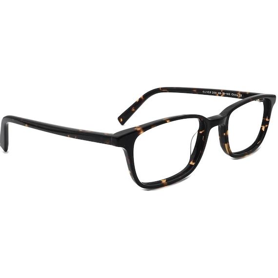 Warby Parker Eyeglasses Oliver 200 Dark Tortoise R