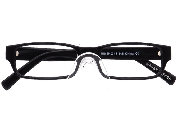 Warby Parker Eyeglasses Thompson 119-100 Black Re… - image 6