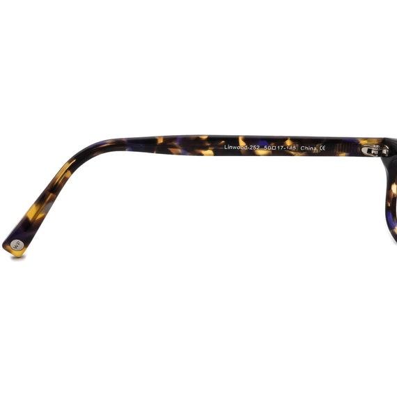Warby Parker Eyeglasses Linwood 252 Tortoise/Purp… - image 7